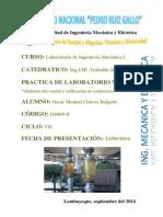 Medida Del Flujo y Calibración de Rotametros UNPRG