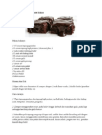 Resepi Kek Chocolate Moist Kukus