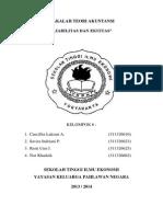 Teori Akuntansi - Liabilitas Dan Ekuitas