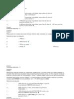 Lecciones y Quiz Corregidos de instrumentacion medica con sus respectivas respuestas