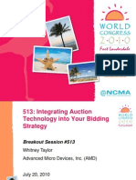 Integrating Auction Technology into Your Bidding Strategy