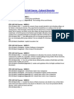 ETH 125 Full Course - Cultural Diversity
