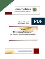 Econometrica - Informe Mensual - Noviembre 2014
