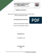 TECNICAS DE CONSERVACION DE SUELOS