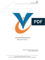 VC Constructions Business Plan