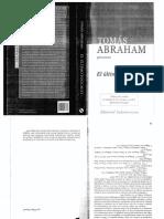 Abraham - El Ultimo Foucault