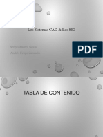 Los Sistemas CAD & Los SIG