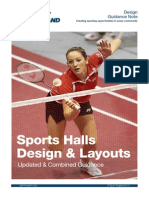 Sports Halls - Design and Layouts 2010