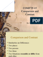 COMFTF-05 PPT.comparison and Contrast
