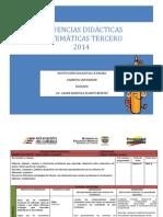 Secuencia MATEMÁTICAS 3