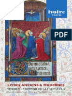 Livres anciens et modernes - TROYES - 17 oct. 2014