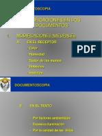 2da. Clase Documentoscopia
