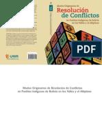 Modos Originarios Resolucin Conflictos Pueblos Indgenas Bolivia en Valles y Altiplano2
