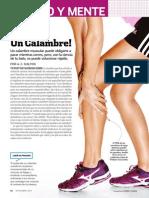 Calambres [Runner's World España - Noviembre 2014]