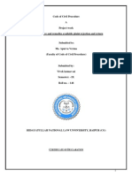 CPC Project  on ex parte degree