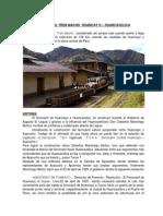 Ferrocaril Tren Macho Huancay o