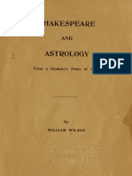 Shakespear and Astrology