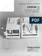 Physio Control Lifepak 5 Defibrillator (1978)