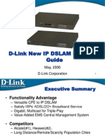IP DSLAM Solution for 2006 Training_D-Link.ppt