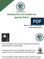 Clase 01 Introducción a La Terapia Con Agentes Físicos