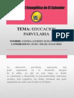 Educacion parvularia fatima