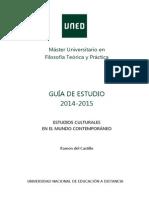 Guia II Estudios Culturales 14 15 Definitiva
