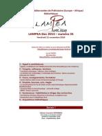 LAMPEA-Doc 2014 – numéro 35 / Vendredi 21 novembre 2014