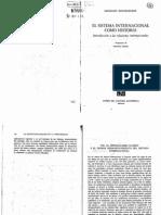 Ekkehart Krippendorf, El sistema internacional como historia, _El imperialismo clásico y el primer desboronamiento del sistema int.l_, FCE, México, p  103 - 112