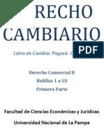Derecho Cambiario (material de estudio)