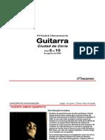 XIII Festival Internacional de Guitarra Ciudad Coria