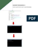 ASSINGMENT PROGRAMMING C++