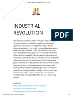 Industrial Revolution - Facts & Summary - HISTORY