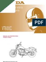 Honda Shadow VT 600 Manual Do Proprietário