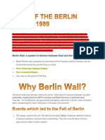 Fall of the Berlin Wall _ 1989