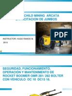Curso Capacitacion Introduccion Jumbo Hidraulico Atlas Copco
