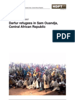 Briefing Kit on the Situation of Darfur Refugees in the Central African Republic | HDPT CAR | August 2007