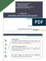 TERMINOS BASICOS Sistema Nacional de Salud