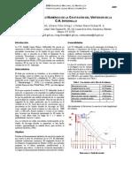 Estudio en Modelo Numérico de La Cavitación Del Vertedor de La