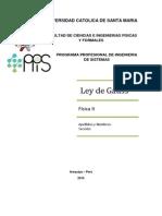 Problemas de Ley de Gauss 2014 II