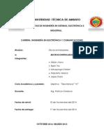 Manejo de Microcontroladores, Entradas, Fusibles Interrupciones, Teclados y LDC,.