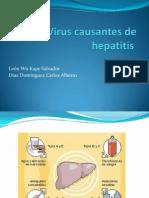 Virus causantes de Hepatitis