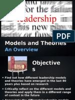 Leadership - Orgnization
