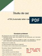 Diagrame Use-case ATM