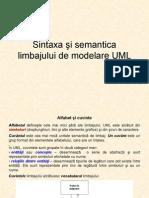 Sintaxa UML
