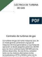 Central Eléctrica de Turbina de Gas