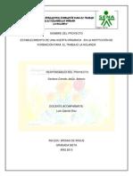 PRODUCCION DE HUERTA ORGANICA