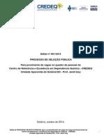 Edital Credeq 2014