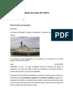 Relación de Notas 19-11-2014