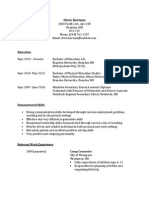 drew korman- ed resume
