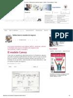El Modelo Canvas - Define Bien Tu Modelo de Negocio - Gestión - Emprendedores - Webs